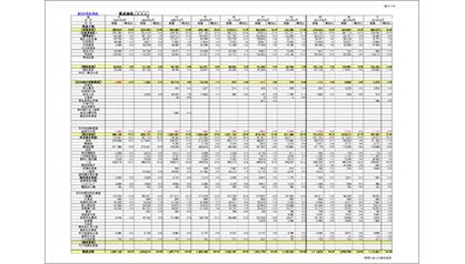 (1)連年比較分析